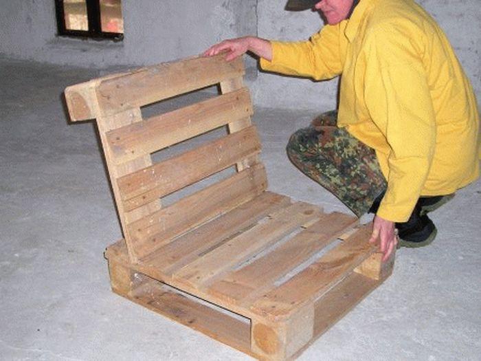 Мебель из паллет своими руками: инструкция и фото