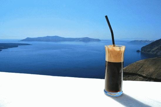 Как сделать греческое кофе фраппе дома
